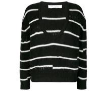 Gestreifter 'Clymer' Pullover
