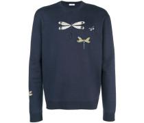 Sweatshirt mit Libellenverzierung