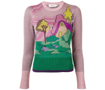 'Spooky Cottage' Pullover