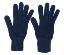 Handschuhe mit gerippten Details