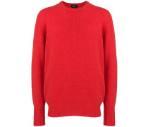 Schmaler Pullover mit rundem Ausschnitt
