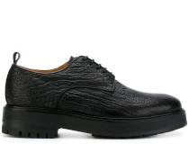 Texturierte Derby-Schuhe
