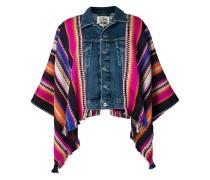 Jacke im Poncho-Design
