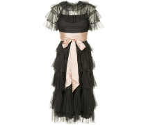 scallop tulle dress