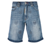Power Trip denim shorts