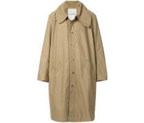 Oversized-Mantel mit breitem Kragen