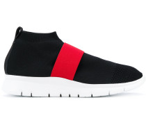 Slip-On-Sneakers in Colour-Block-Optik