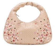 Mittelgroße 'Meadow Flower Veneta' Handtasche