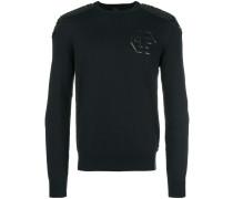 Pullover mit Logo an der Brust