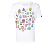 T-Shirt mit Cartoon-Print