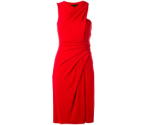 Drapiertes Kleid in Wickeloptik