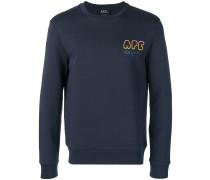 A.P.C. Sweatshirt mit Logo-Print