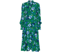 Ellera Elizabeth Garden print silk dress