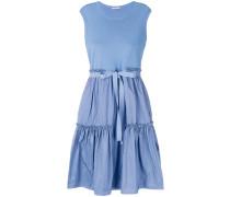 Kleid mit stufigem Saum