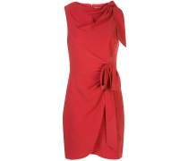 Nanon bow-embellished mini dress