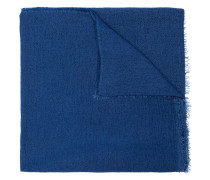 Feinstrick-Schal mit ausgefransten Kanten