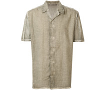 Kurzärmeliges Hemd mit Muster