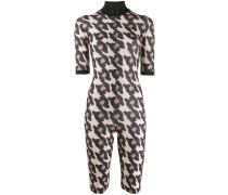 Playsuit mit Animal-Print