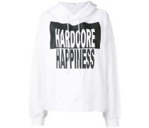 'Hardcore Happiness' Kapuzenpullover
