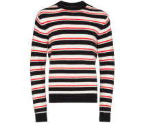 Gestreifter 'Noah' Pullover - Multicoloured: