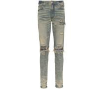 'MX1' Jeans mit Bandana