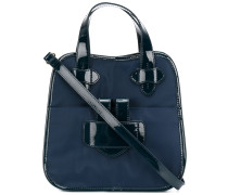 Zelig small contrast trim tote - Unavailable