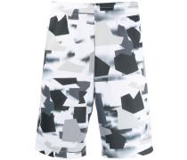 Joggingshorts mit Camouflage-Print