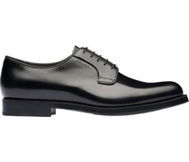 brushed Derby shoes