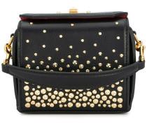 studded mini Box bag