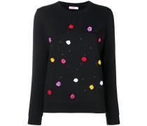 rose detail sweater