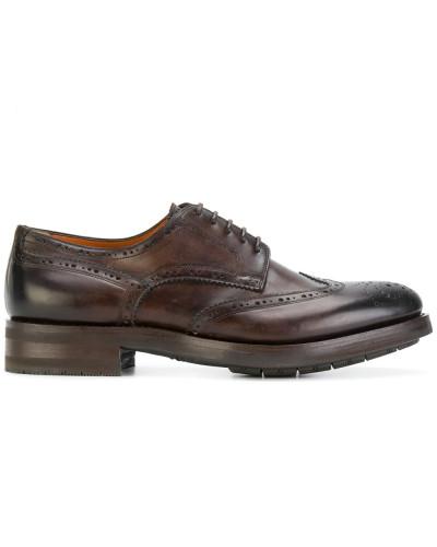 Spielraum Neu Santoni Herren Oxford-Schuhe mit Stickerei Online-Verkauf iMBehZWlcl