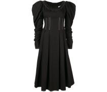 'Carla' Kleid mit Puffärmeln