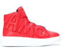 High-Top-Sneakers mit breiter Sohle
