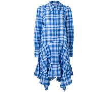 Kariertes Seersucker-Kleid