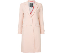 single-breasted button coat