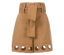 Shorts mit Ösen