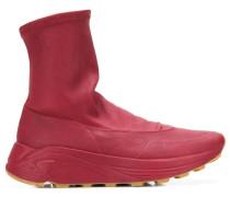 Knöchelhohe Slip-On-Sneakers