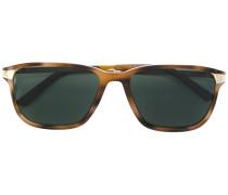 Quadratische Sonnenbrille in Schildpattoptik