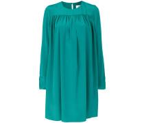 Kleid mit Knopfmanschetten
