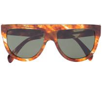 Klassische Pilotenbrille in Schildpattoptik