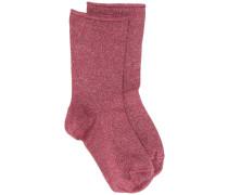 Fein gestrickte Socken
