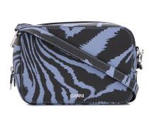 Mini-Tasche mit Zebra-Print