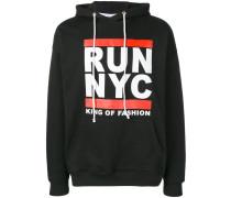 "Kapuzenpullover mit ""Run NYC""-Print"