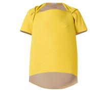 asymmetric boxy blouse