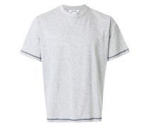 T-Shirt mit Kontrastnaht