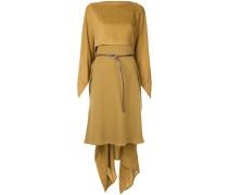 asymmetrical mid-length dress