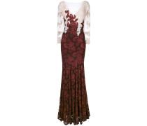 Kleid mit Spitzenstickerei