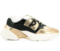 statement panelled sneakers