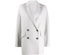 Doppelreihiger Oversized-Mantel