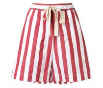 Weite Shorts mit Streifen